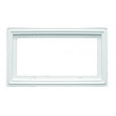 "Standard  Frame 2x4 White.  Fits 4 2"" X 4"" Tiles"