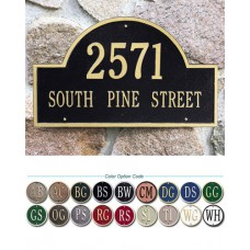 """Arch Marker Estate Wall Plaque  23.25"""" x 14"""""""