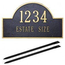"Arch Marker Estate Lawn Plaque  23.25"" x 14"""