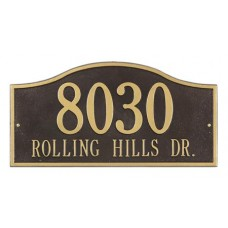 """Rolling Hills Grand Wall Plaque 18"""" x 9"""""""