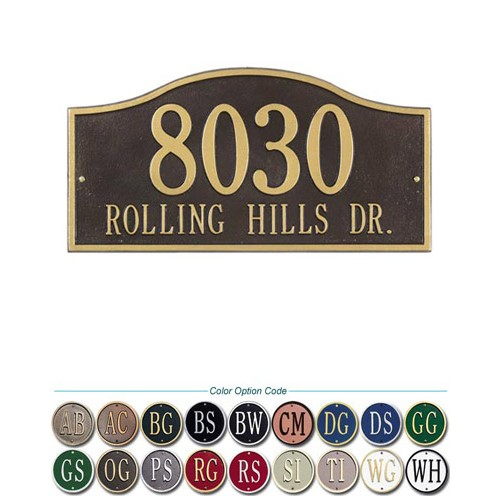 Rolling Hills Standard Wall Plaque 15 Inch X 7 5 Inch At