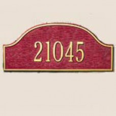 """Admiral Petite Wall Plaque  8.12"""" x 3.5"""""""