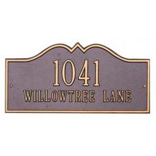 """Hillsboro Estate Wall Plaque 25"""" x 12"""""""