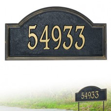 """Providence Arch Standard Wall Plaque 17"""" x 9.5"""" x 1.25"""""""