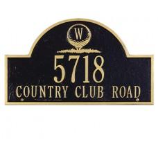 "Monogram Golf  Arch Standard Wall Plaque 15.75"" x 9.25"""
