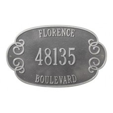 """Florence Estate Wall Plaque  Size: 17.25"""" x10.75"""""""