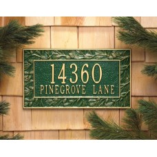 """Pinecone Standard Wall Plaque 16"""" x 9"""""""