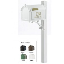 Superior Mailbox Package - White