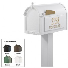 Premium  Mailbox Package - White