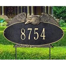 "Eagle Oval Estate  Lawn Plaque 24"" x 14"""