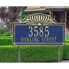 "Sunburst Estate Lawn Plaque 23.5"" x 13.5"""