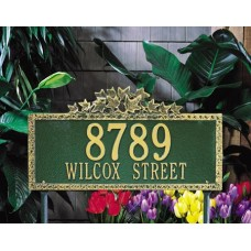 """Ivy Estate Lawn Plaque23.5"""" x 12.75"""""""