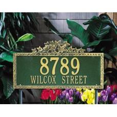 "Ivy Standard Lawn Plaque16.5"" x 9.75"""