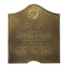"Pennsylvania Dutch Anniversary Plaque 11.125"" x 12.625"""