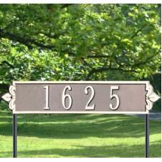 """Lyon Horizontal Estate Lawn Plaques 25"""" x 6"""""""