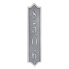 """Norfolk Vertical  Standard Wall Plaque 4"""" x 19"""""""