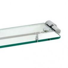 3200 Series - Solid Brass Glass Shelf