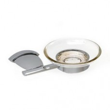 3800 Series - Solid Brass Soap Dish with Glass