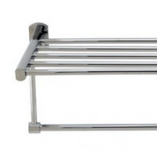 3900 Series - Solid Brass Double Towel Shelf