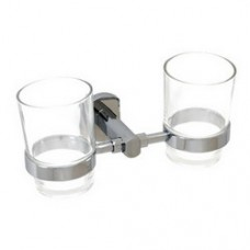 3900 Series - Solid Brass Double Glass Holder