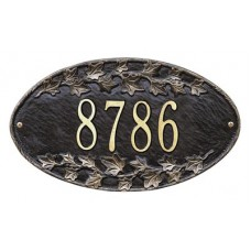 """Ivy Oval Standard Wall Plaque 13.5"""" x 7.75"""""""