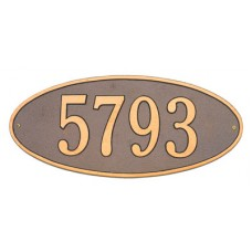 """Madison Oval Standard Wall Plaque 17.5""""x 7.75"""""""