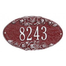 """Rose Oval Standard Wall Plaque13.5"""" x 7.75"""""""