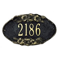 """Pansy Oval Standard Wall Plaque 13.5"""" x 7.75"""""""