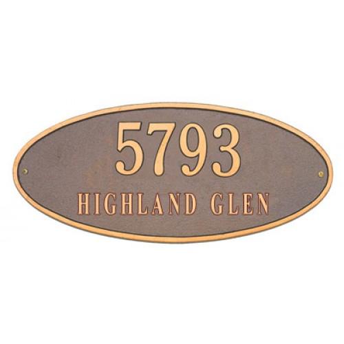 Madison Plaques Address Plaque At Rpm Hardware