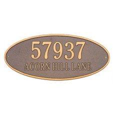 """Madison Oval Estate Wall Plaque 24.5"""" x 10.375"""""""