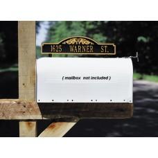"Two-sided Mailbox Address Scroll Marker  14.34"" x 3.5"""