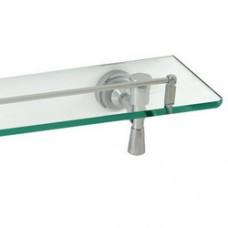 5100 Series - Solid Brass Glass Shelf