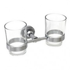 5100 Series - Solid Brass Double Glass Holder