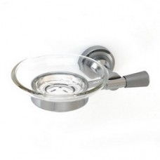 5100 Series - Solid Brass Soap Dish with Glass
