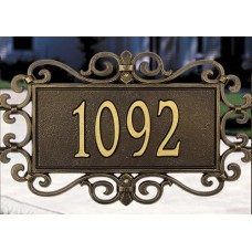 """Mears Fretwork  Estate Wall Plaque24"""" x 14"""" x 0.5"""""""