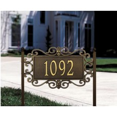 "Mears Fretwork  Standard Lawn Plaque17.5"" x 11"" x 0.5"""
