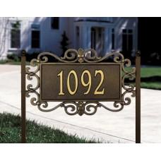 "Mears Fretwork  Estate Lawn Plaque 24"" x 14"" x 0.5"""