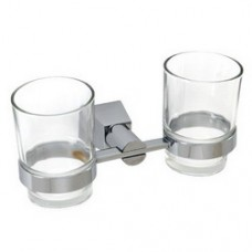 5600 Series - Solid Brass Double Glass Holder