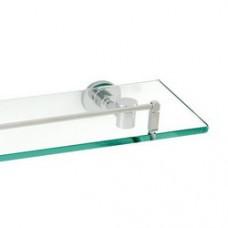 5800 Series -Solid Brass  Glass Shelf
