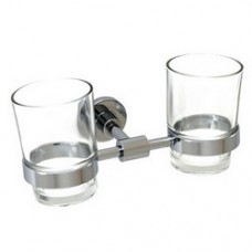 5800 Series -Solid Brass  Double Glass Holder