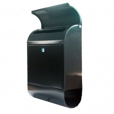Wall Mounted Mailsafe Mailbox with Cam Lock Access Door and Keys