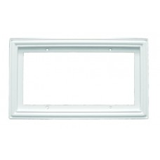 "Standard  Frame 3x6 White.  Fits 4 3"" X 6"" Tiles"