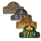 Arch Metal Plaques