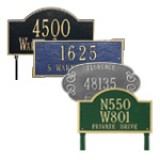 Architectural Metal Plaques