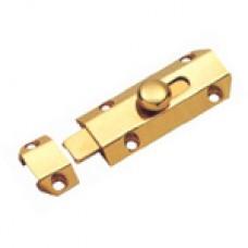 """4"""" Solid Brass Door Bolt"""