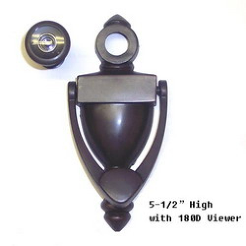 Zinc alloy door knocker with viewer at rpm hardware - Door knocker with viewer ...