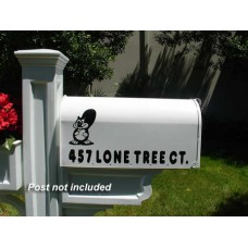"Imagine Custom Mailbox  IMG-E1-W  6.5"" W x 9"" H x 19"" L"