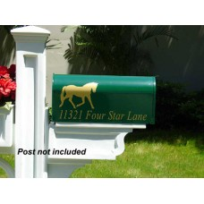 "Imagine Custom Mailbox  IMG-E1-G  6.5"" W x 9"" H x 19"" L"