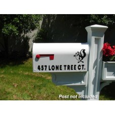 "Imagine Custom Mailbox  IMG-E2-W  8.25""  x 10.5""  x 21.5"""