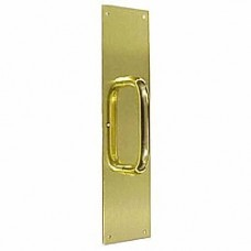 Push & Pull Handle with Plate